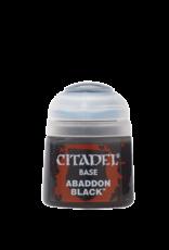 Games Workshop Abaddon Black paint pot