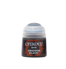 Games Workshop Abaddon Black paint pot