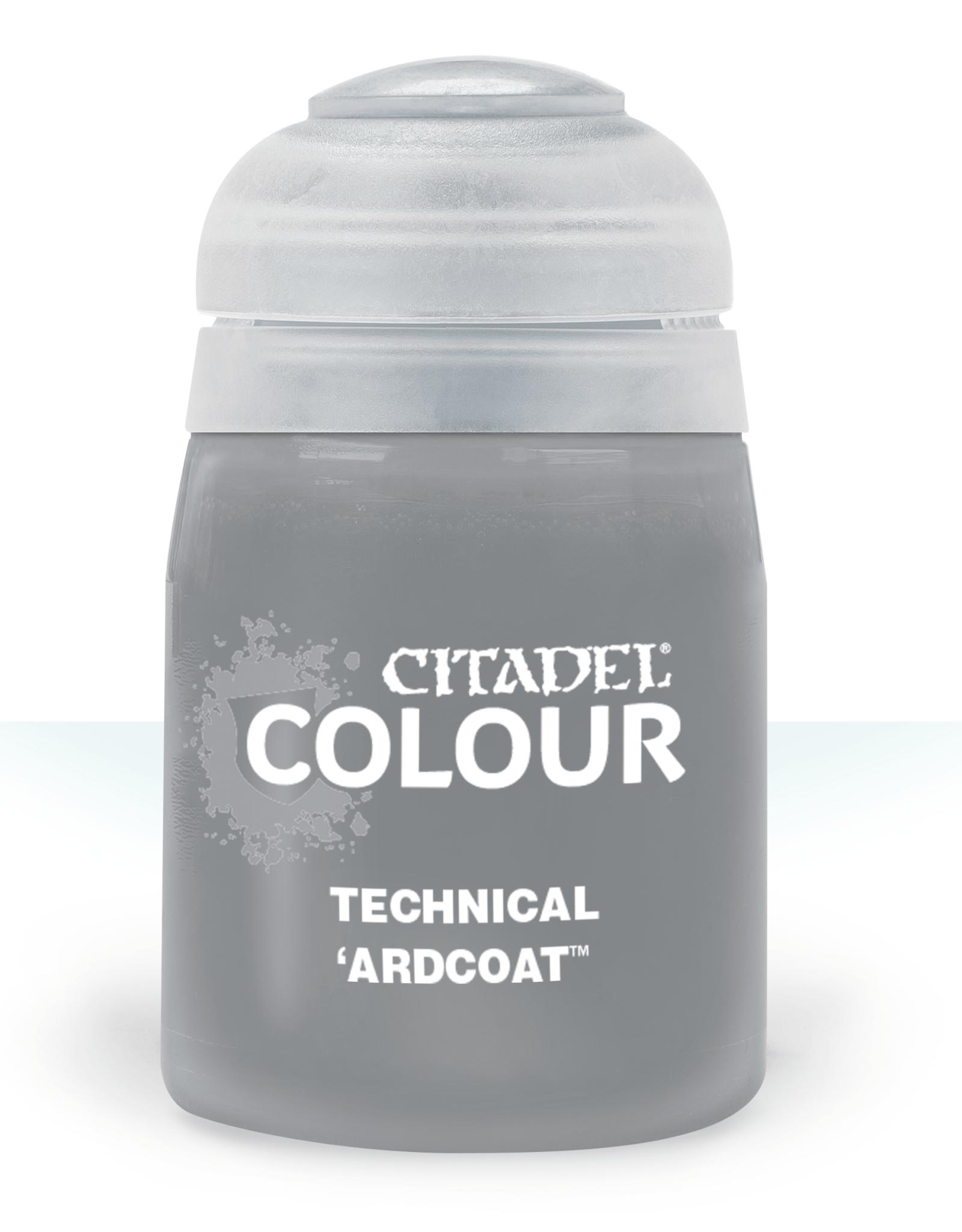Games Workshop 'Ardcoat paint pot