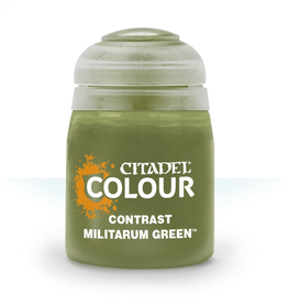 Games Workshop Contrast Paint: Militarum Green