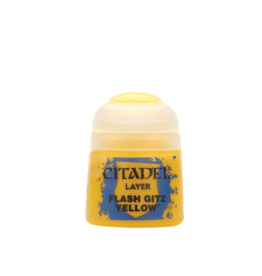 Games Workshop Flash Gitz Yellow paint pot