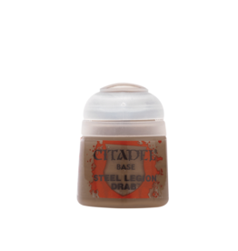 Games Workshop Steel Legion Drab paint pot