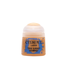 Games Workshop Tau Light Ochre paint pot