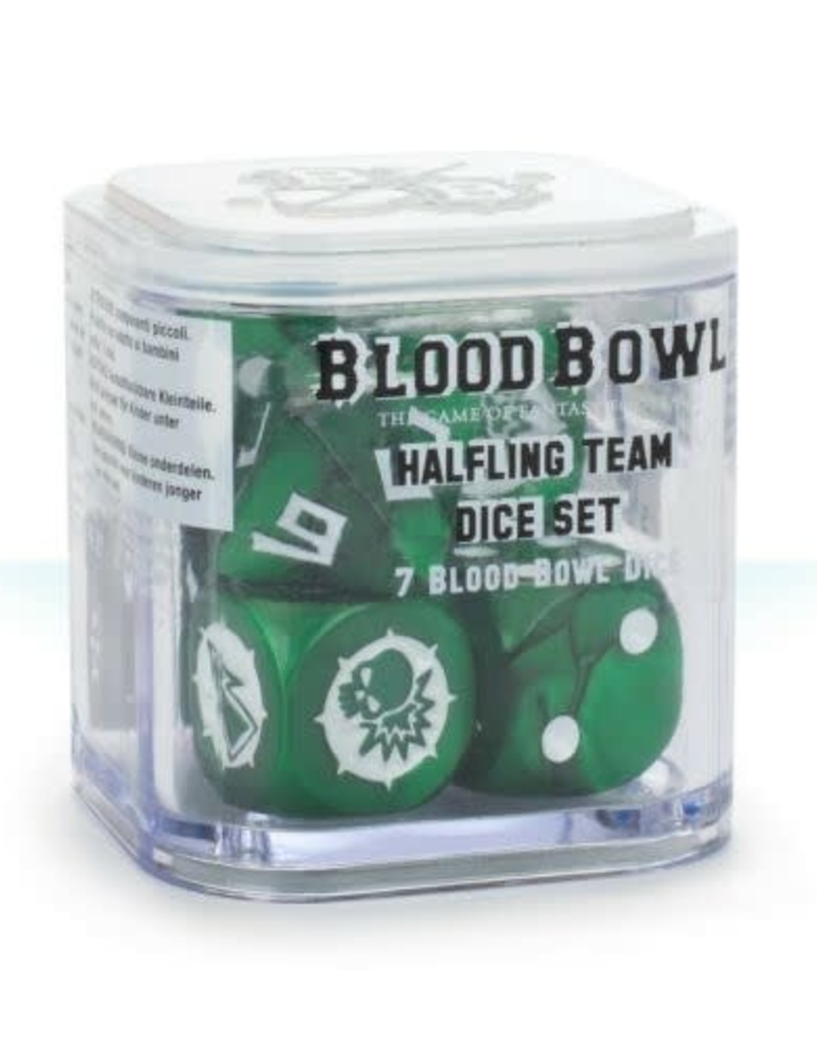 Games Workshop Bloodbowl: Halfling Dice