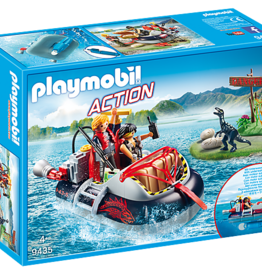 Playmobil Playmobil Dino Hovercraft with Underwater Motor
