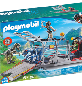 Playmobil Playmobil Enemy Airboat with Raptors