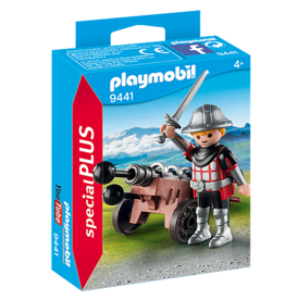 Playmobil Playmobil Knight With Cannon