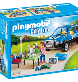 Playmobil Playmobil Mobile Pet Groomer