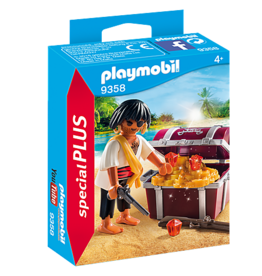 Playmobil Playmobil Pirate with Treasure Chest