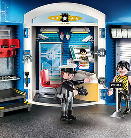 Playmobil Playmobil Police Station Play Box
