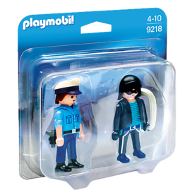 Playmobil Playmobil Policeman and Burglar