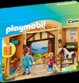 Playmobil Playmobil Pony Stable Play Box