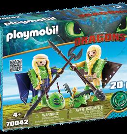 Playmobil Playmobil Ruffnut and Tuffnut with Flight Suit