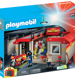 Playmobil Playmobil Take Along Fire Station
