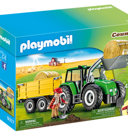 Playmobil Playmobil Tractor with Trailer