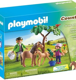 Playmobil Playmobil Vet with Pony and Foal