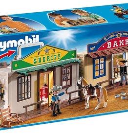 Playmobil Playmobil Take Along Western City