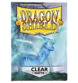 Arcane Tinmen Dragon Shields: (100) Matte Clear