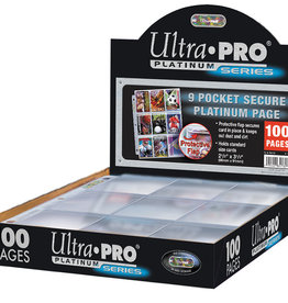 Ultra PRO 9 Pocket Binder Page