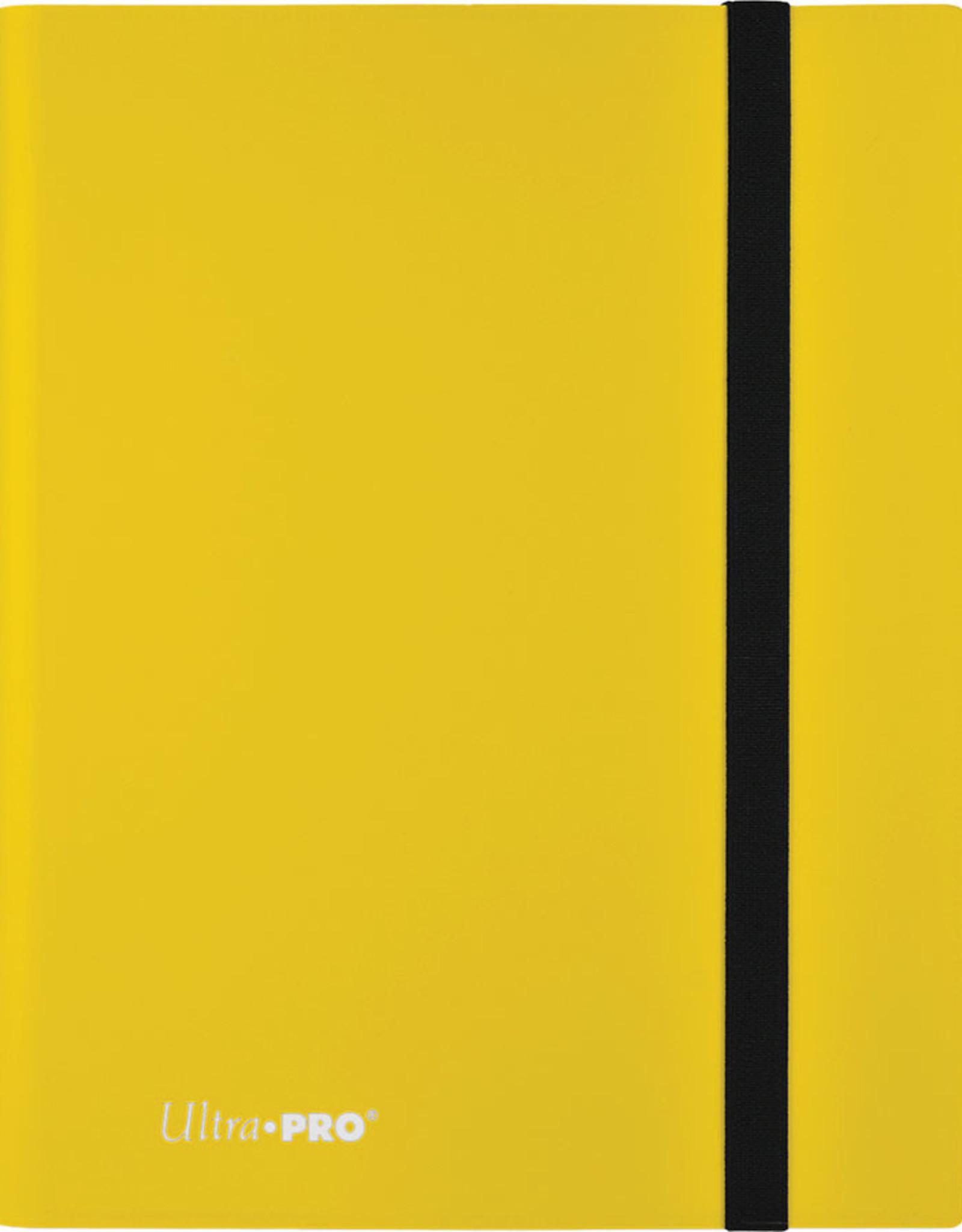 Ultra PRO Binder: Eclipse 9pkt Lemon Yellow