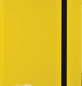 Ultra PRO Binder: Eclipse 9pkt Lemon Yellow