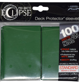 Ultra PRO Pro-Matte Eclipse 100ct Sleeve Forest Green