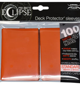 Ultra PRO Pro-Matte Eclipse 100ct Sleeve Orange