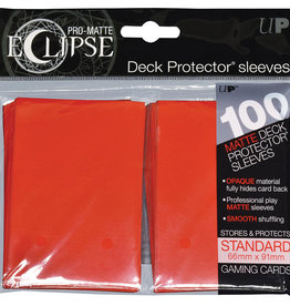 Ultra PRO Pro-matte Eclipse 100ct Sleeve Red
