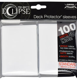 Ultra PRO Pro-Matte Eclipse 100ct Sleeve White
