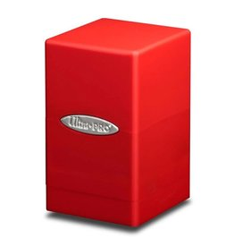 Ultra PRO Deck Box Satin Tower Red
