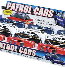 Toysmith Pull Back Patrol Cars