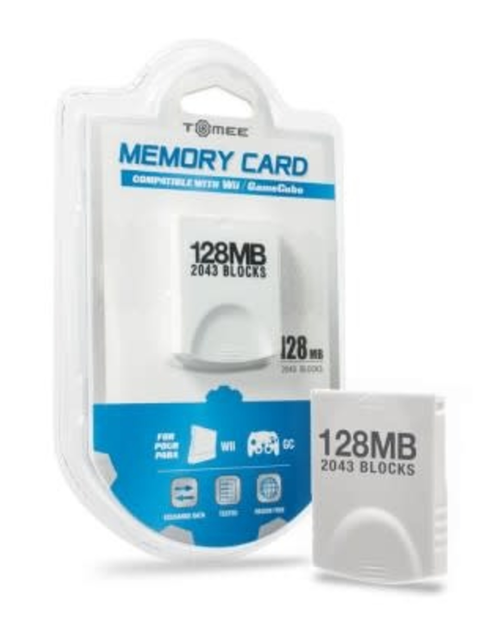 Tomee 128MB Memory Card For Wii®/ GameCube®