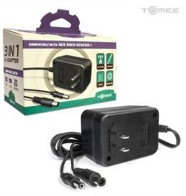 Tomee 3 in 1 AC Adapter for Genesis/SNES/NES