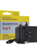 Hyperkin 3 in 1 AC Adaptor for NES/SNES/Genesis