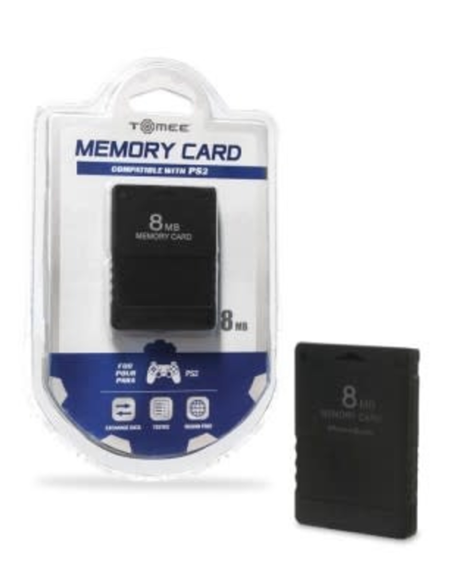 Tomee 8MB Memory Card for PS2