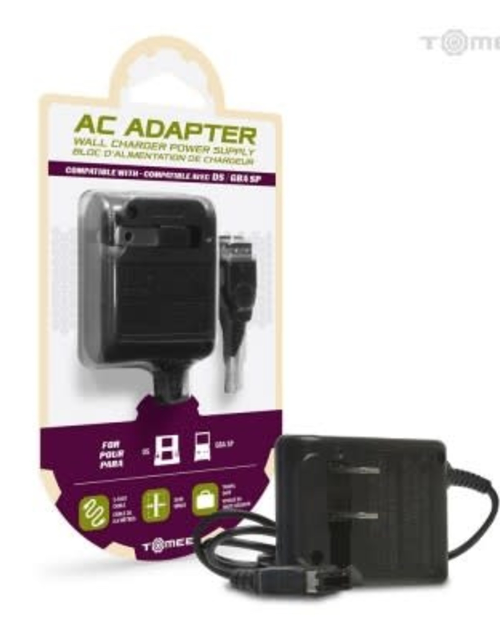 Tomee AC Adapter for Nintendo DS/ Game Boy Advance SP