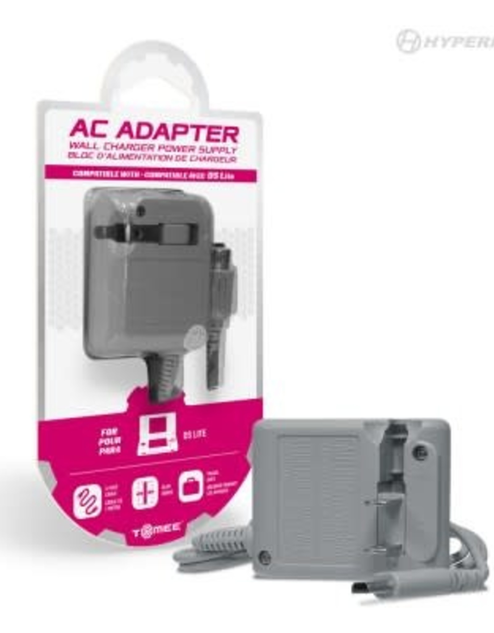 Tomee AC Adapter For Nintendo DS® Lite