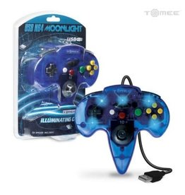 "Tomee ""Moonlight"" USB Controller For PC/ Mac® (Clear Blue)"
