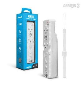"Armor 3 ""NuWave"" Controller With Nu+ For Wii U®/ Wii® (White)"