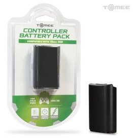 Tomee Rechargeable Controller Battery Pack Xbox 360 Black