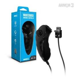 "Armor 3 ""WaveChuck"" Nunchuck Controller for Wii U/ Wii (Black)"