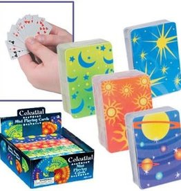 Toysmith Celstial Mini Playing Cards