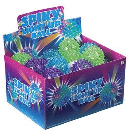 Toysmith Flashing Spiky Ball