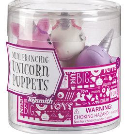 Toysmith Mini Prancing Unicorn Puppets
