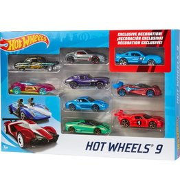mattel Games Hot Wheels 9 CAR PACK ASST
