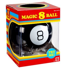 mattel Games Magic 8 Ball Retro