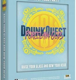 Ninja Division Drunk Quest: Porcelain Gods (Tin)