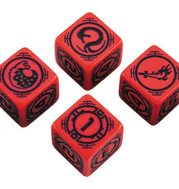 Q-Workshop Battletech House Kurita D6 Dice Set