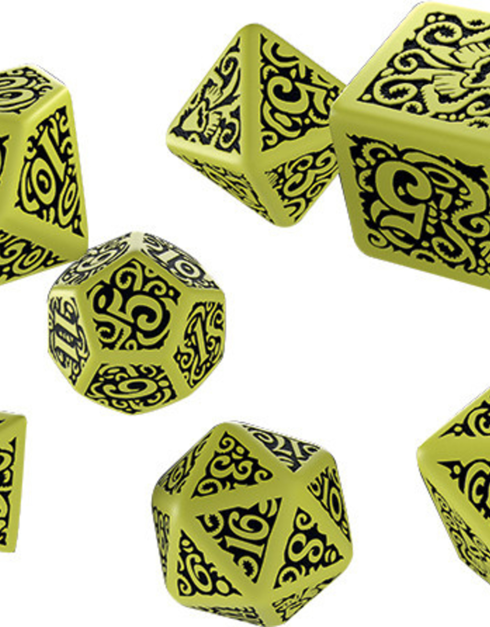 Q-Workshop Call of Cthulhu Hastur Poly 7 Dice Set