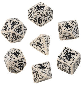 Q-Workshop Council of Thieves Poly 7 Dice Set